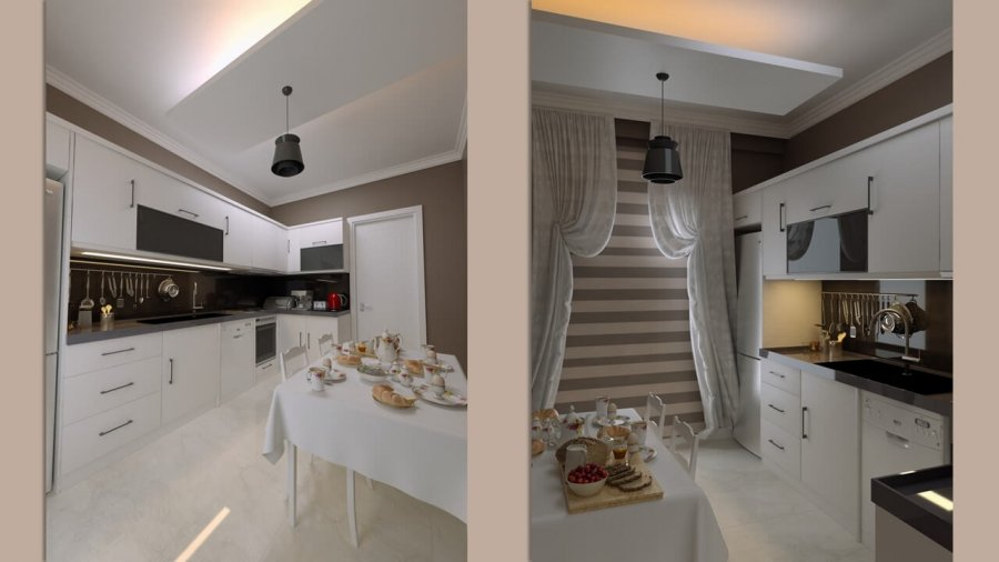 Şık Mutfak Tasarımı | Up Hill Korucuk
